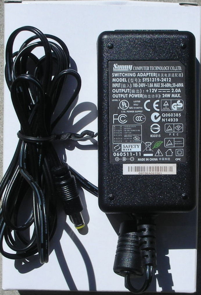 5v Linksys WRT54G replacement power supply adapter